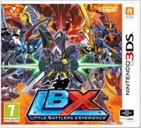 LBX: Little Battlers eXperience (3DS) - Cover