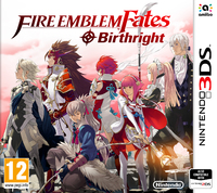Fire Emblem Fates: Birthright (3DS) - Cover