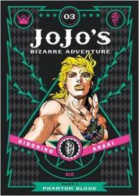 JoJo's Bizarre Adventure Part 1 Phantom Blood Vol. 03 - Hirohiko Araki (Hardcover) - Cover