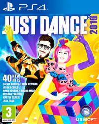 Just Dance 2016 (PS4) - Cover