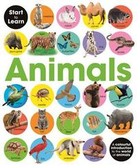 Start to Learn: Animals - Green Android Publishers (Hardback) - Cover