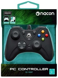 BigBen NACON Vibrating Gaming Controller With Wire For PC