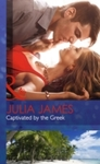 Captivated By the Greek - Julia James (Hardcover)