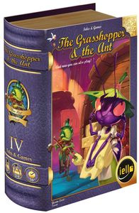 Tales & Games - The Grasshopper and the Ant (Board Game) - Cover