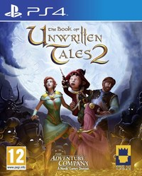 The Book of Unwritten Tales 2 (PS4) - Cover