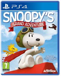 The Peanuts Movie: Snoopy's Grand Adventure (PS4) - Cover