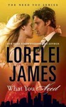 What You Need - Lorelei James (Paperback)