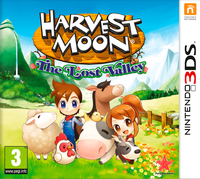 Harvest Moon: The Lost Valley (3DS) - Cover