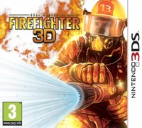 Real Heroes: Firefighter 3D (3DS) - Cover