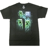 Minecraft - Three Creeper Moon - T-Shirt  (XX-Large)