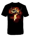Resident Evil 5 - Back To Back Gun Pose - T-Shirt  (Small)