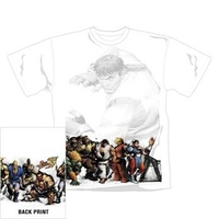 Street Fighter - Line Up - T-Shirt (XX-Large) - Cover