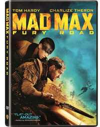 Mad Max: Fury Road (DVD) - Cover