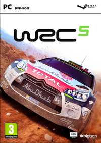 World Rally Championship 5 (PC) - Cover