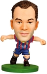 Soccerstarz Figure - Barcelona Andres Iniesta  - Home Kit (2015 version)