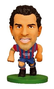 Soccerstarz Figure - Barcelona Cesc Fabregas  - Home Kit (2014 version) (Legend) - Cover
