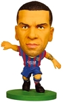 Soccerstarz Figure - Barcelona Dani Alves - Home Kit (2015 version)