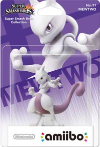 Nintendo amiibo Mewtwo (For 3DS/Wii U) - Cover