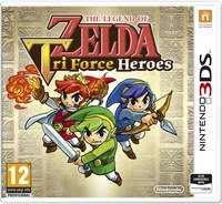 The Legend of Zelda: Tri Force Heroes (3DS) - Cover