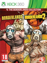 Borderlands 1 & 2 Collection (Xbox 360) - Cover