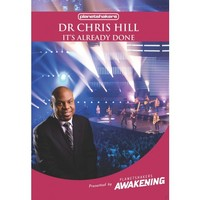 Dr. Chris Hill - It's Already Done (DVD) - Cover