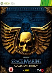 Warhammer 40.000: Space Marine (Xbox 360) - Cover