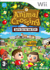 Animal Crossing: Lets go to the City (Wii) Cover