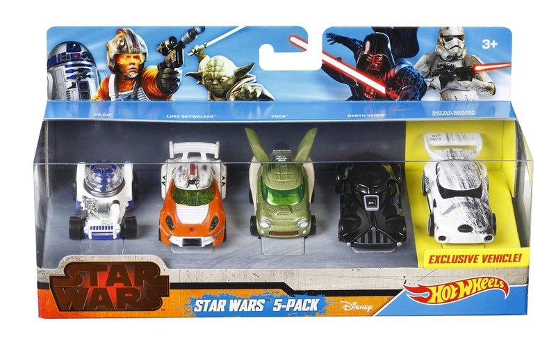 hot wheels star wars character car 5 pack hobbies toys online raru. Black Bedroom Furniture Sets. Home Design Ideas
