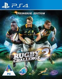 Rugby Challenge 3 - The Springbok Edition (PS4) - Cover