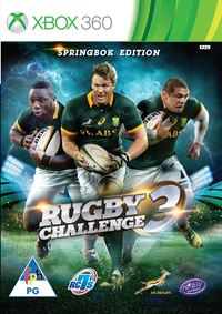 Rugby Challenge 3 - The Springbok Edition (Xbox 360) - Cover