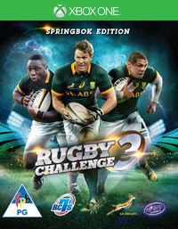 Rugby Challenge 3 - The Springbok Edition (Xbox One) - Cover