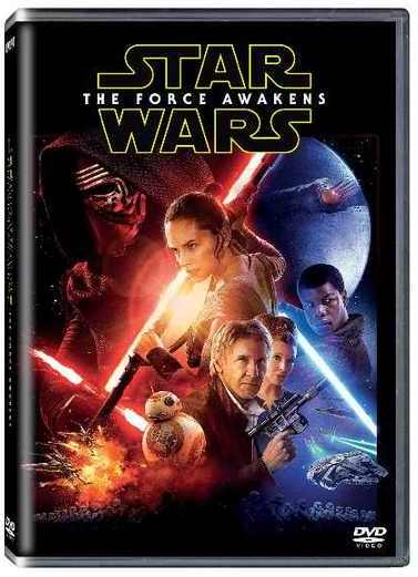 2902693 Star Wars The Force Awakens Dvd on Forces And Motion