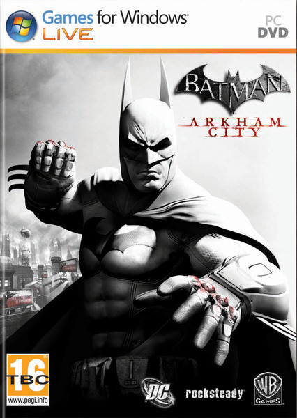 Image result for Batman Arkham City cover pc