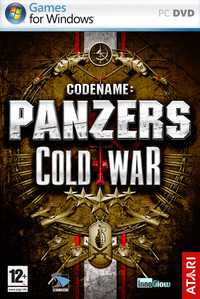 Codename Panzers: Cold War (PC) - Cover