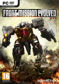 Front Mission: Evolved (PC) - Cover