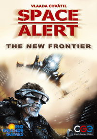 Space Alert - The New Frontiers Expansion (Board Game) - Cover