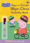 Peppa Pig: Peppa and George's Wipe-clean Activity Book -  (Paperback)