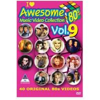 Various Artists - Awesome 80's Music Video Collection Vol.9 (DVD)