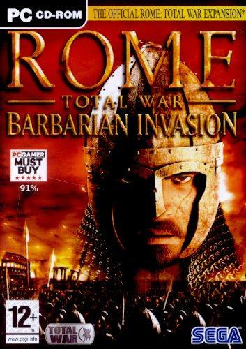 what year did the barbarians invade rome
