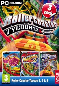 Rollercoaster Tycoon 1+2+3 pack (PC) - Cover
