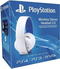 Sony PlayStation Wireless Stereo Headset 2.0 - White (PS4/PS3/PS VITA) - Cover