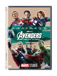 Avengers: Age of Ultron (DVD) - Cover
