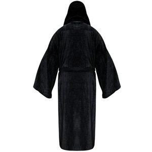 ba8e066bcd Star Wars - Galactic Empire Fleece Robe - Black Logo - Adult One ...
