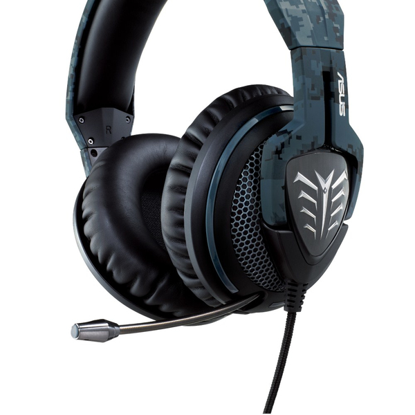e2b8fe37c1b ASUS Echelon Navy Edition - Gaming Headset - Camo Style - Cover