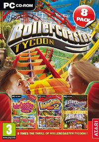 RollerCoaster Tycoon 8 Pack (PC) - Cover