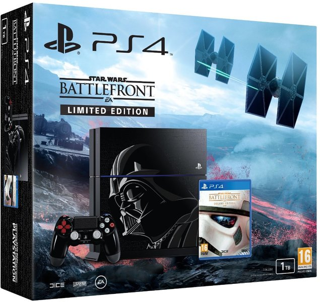 sony playstation 4 console ps4 1tb limited edition star. Black Bedroom Furniture Sets. Home Design Ideas