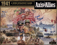 Axis & Allies 1941: A WWII Strategy Game (Board Game) - Cover