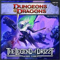 Dungeons & Dragons - The Legend of Drizzt (Board Game) - Cover