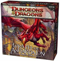 Dungeons & Dragons - Wrath of Ashardalon (Board Game) - Cover