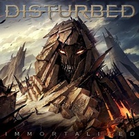 Disturbed - Immortalized (CD) - Cover